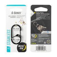 G-Series™ Dual Chamber Carabiner #2 - Black