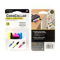 CordCollar™ Cord ID + Protection - 8pk Assorted